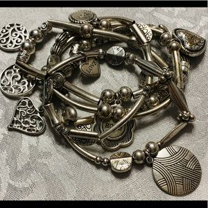 Lia Sophia Charm Bracelet Love, Hope, Joy